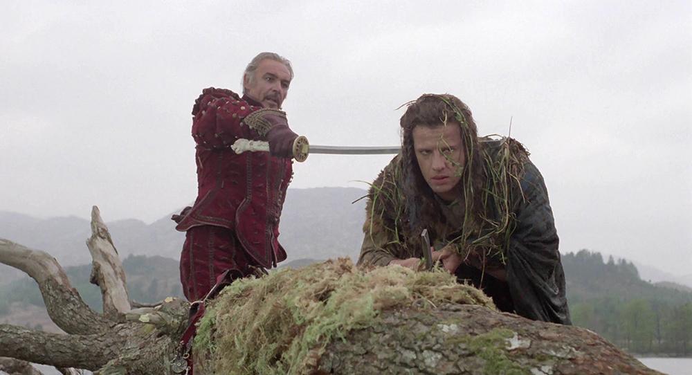 Scena tratta da Highlander