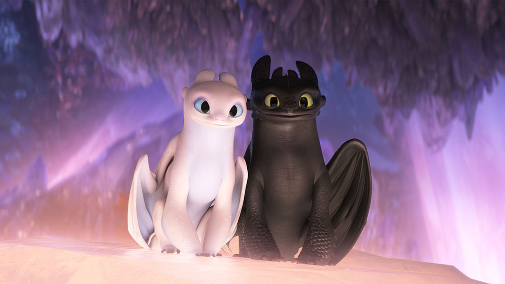 Scena tratta da How to Train Your Dragon: The Hidden World
