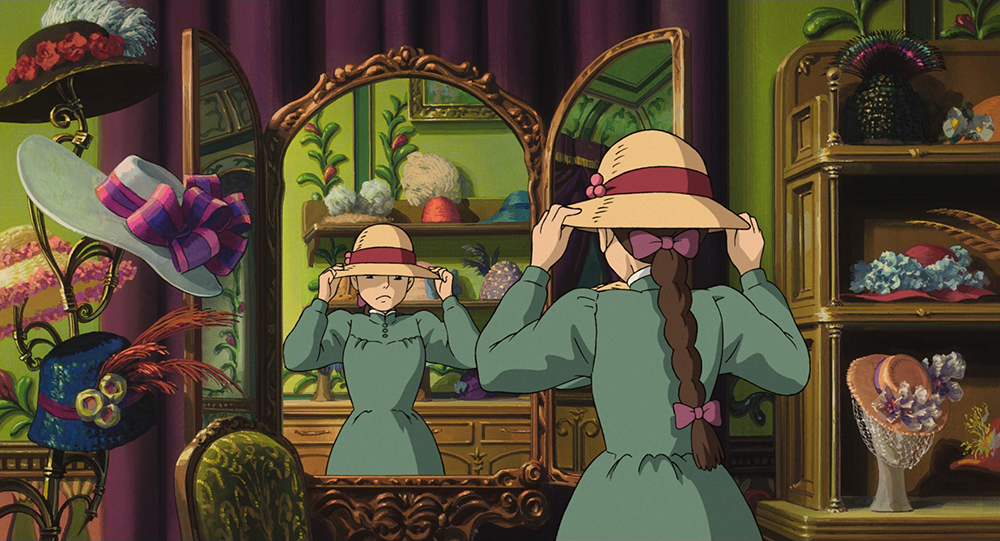 Scena tratta da Howl's Moving Castle