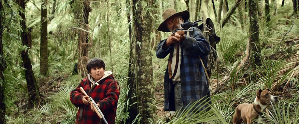 Scena tratta da Hunt for the Wilderpeople