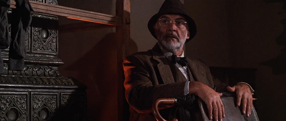 Scena tratta da Indiana Jones e l'Ultima Crociata