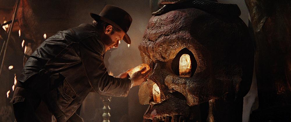 Scena tratta da Indiana Jones e il Tempio Maledetto