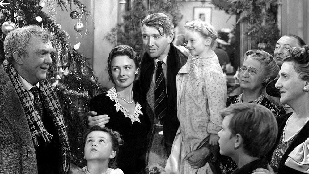 Scena tratta da It's a Wonderful Life