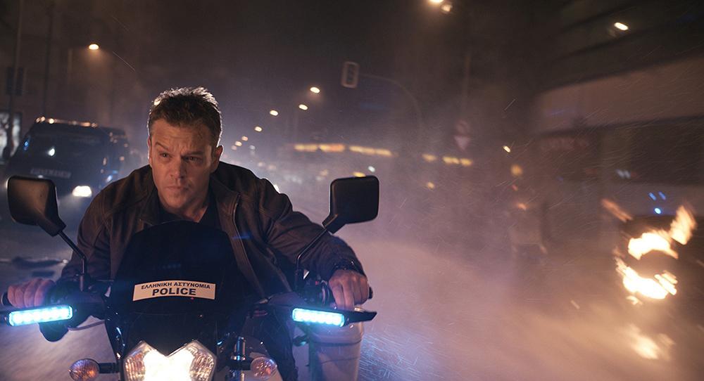 Scena tratta da Jason Bourne