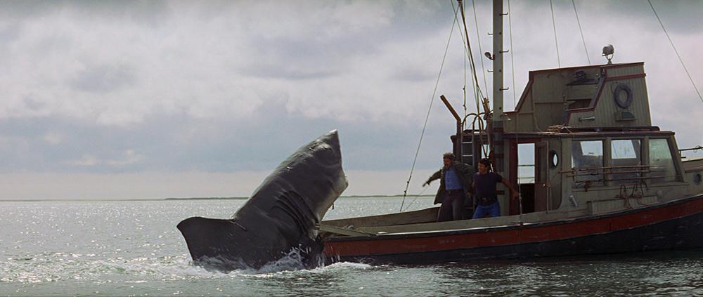 Scena tratta da Jaws
