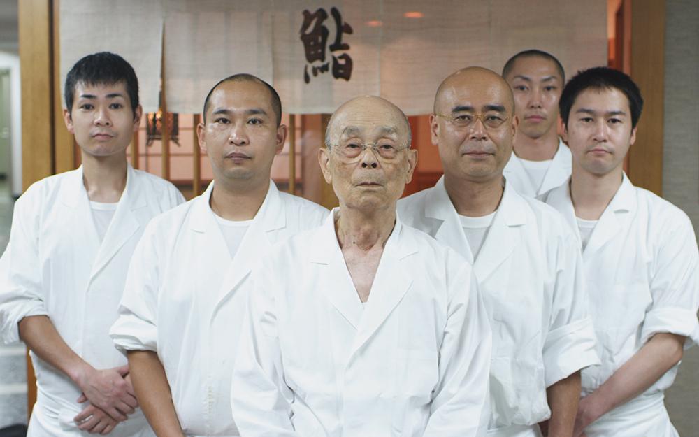 Scena tratta da Jiro Dreams of Sushi