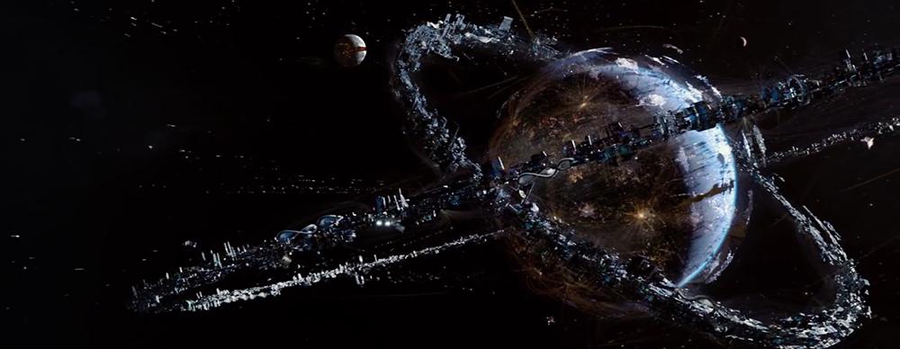 Scena tratta da Jupiter - Il Destino dell'Universo