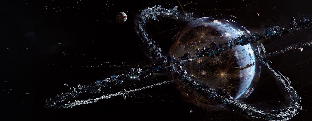 Scena tratta da Jupiter Ascending