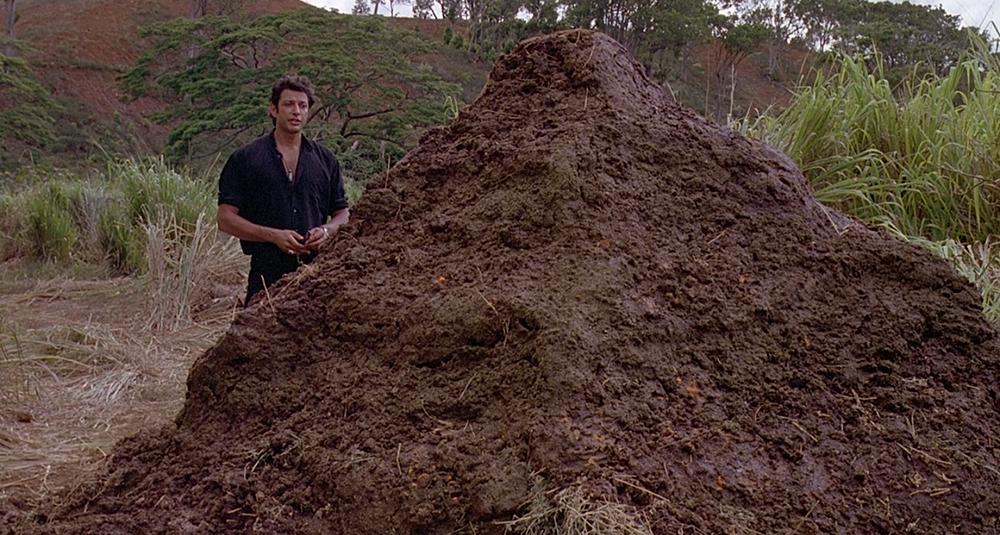 Scena tratta da Jurassic Park