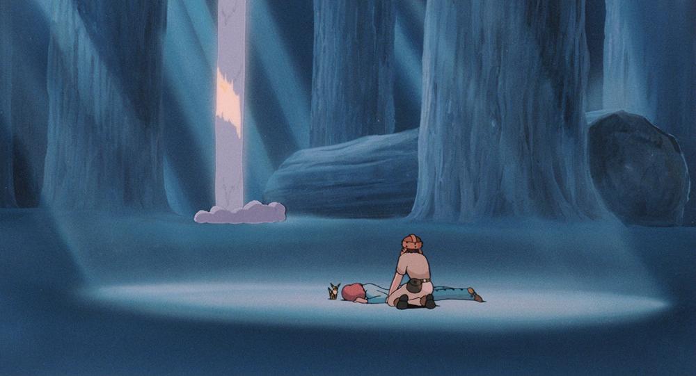 Scena tratta da Nausicaä della Valle del Vento