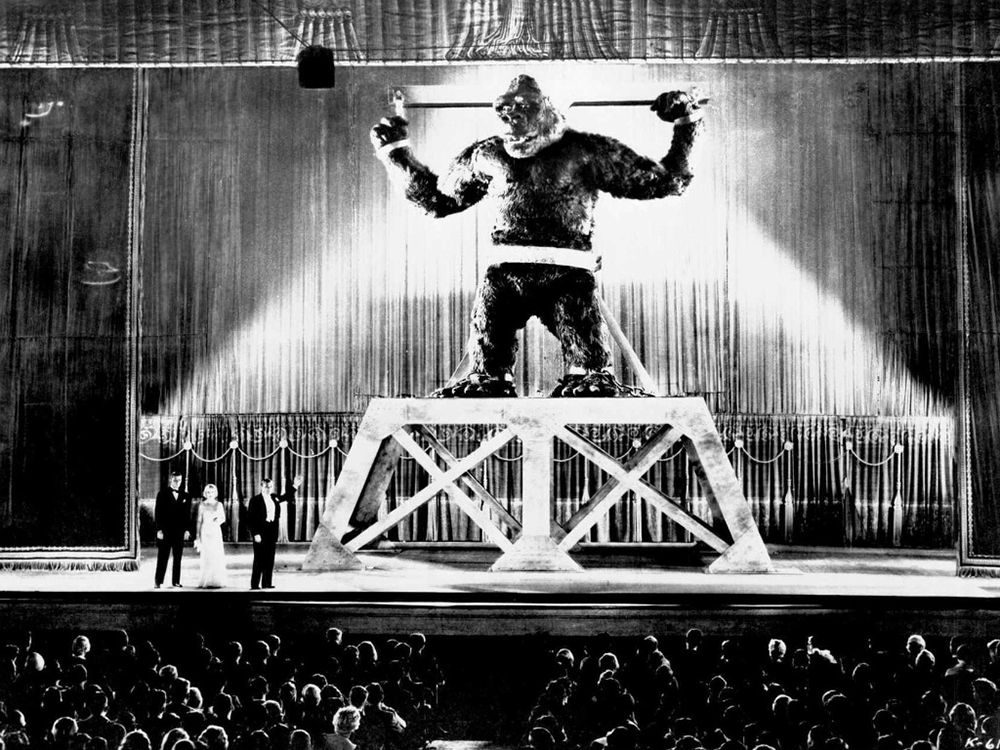 Scena tratta da King Kong (1933)