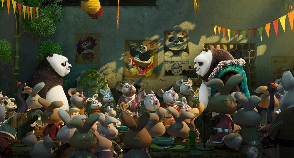 Scena tratta da Kung Fu Panda 3