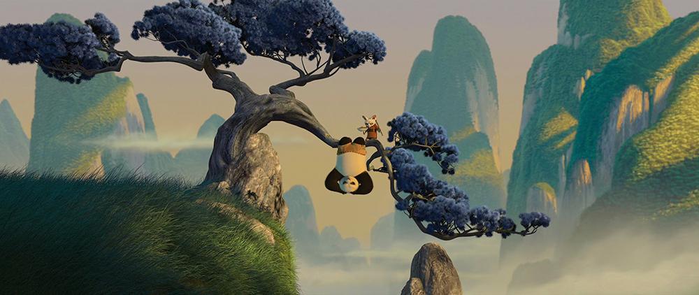 Scena tratta da Kung Fu Panda
