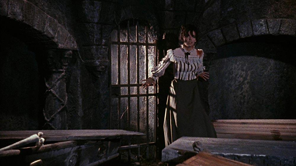 Scena tratta da L'Orribile Segreto del Dr. Hichcock
