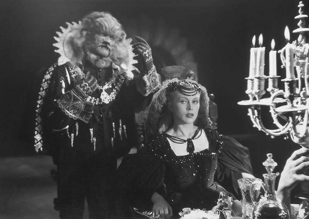 Scena tratta da La Belle et la Bête