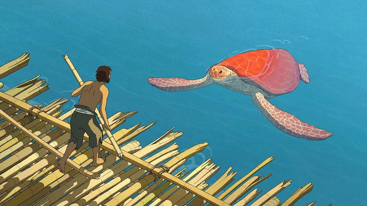 Scena tratta da La Tartaruga Rossa