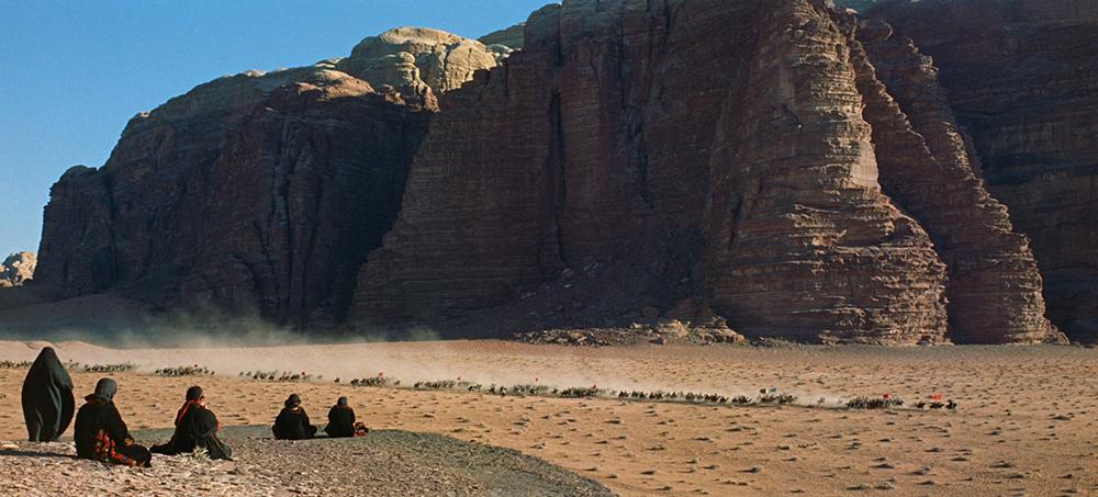 Scena tratta da Lawrence d'Arabia