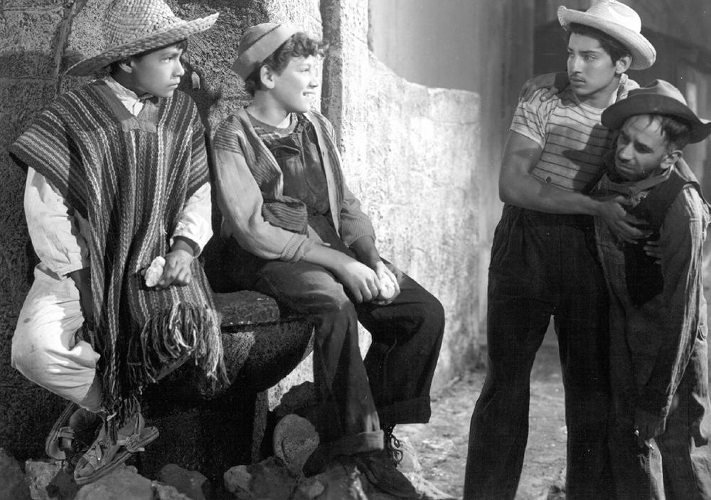 Scena tratta da Los Olvidados