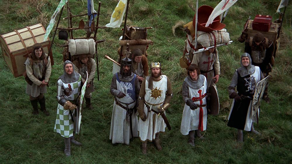 Scena tratta da Monty Python e il Sacro Graal