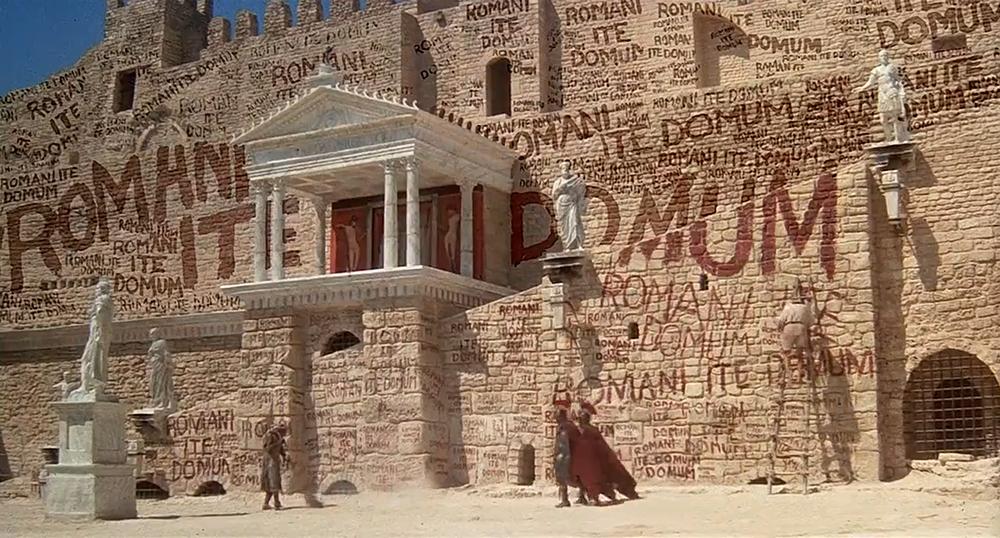Scena tratta da Brian di Nazareth