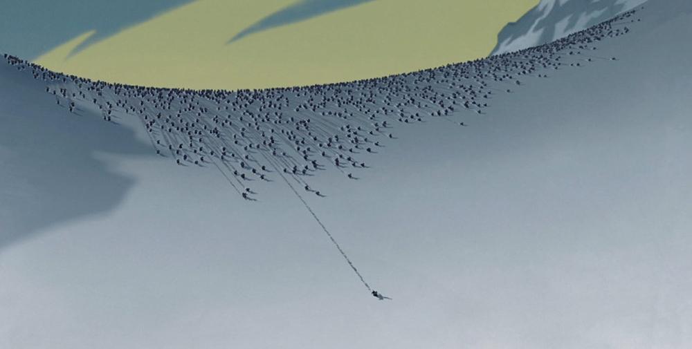 Scena tratta da Mulan