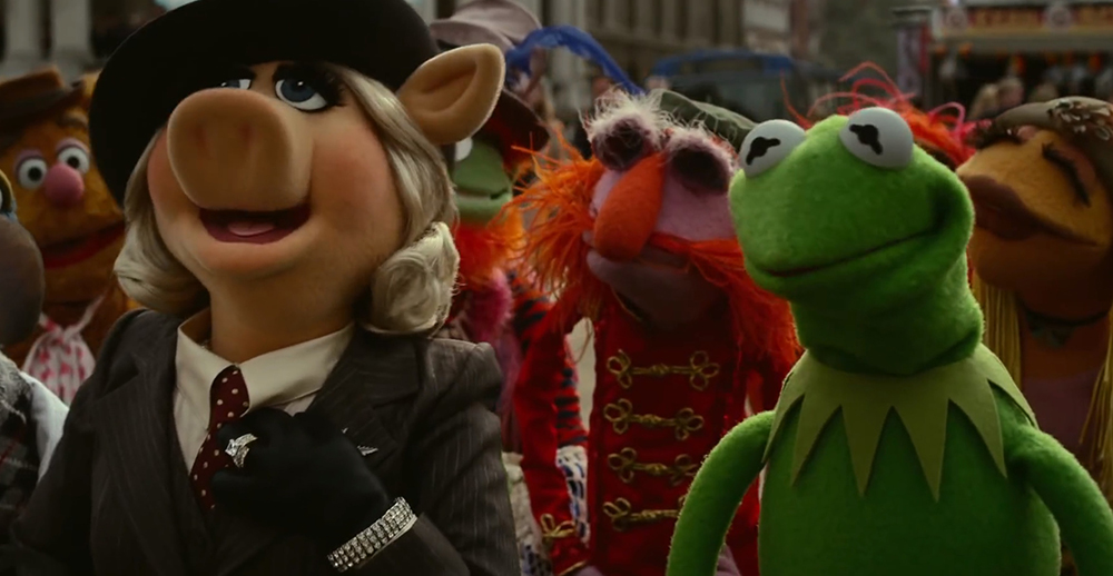 Scena tratta da Muppets Most Wanted