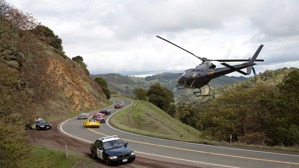 Scena tratta da Need for Speed