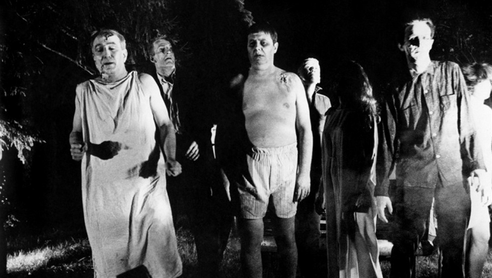 Scena tratta da Night of the Living Dead