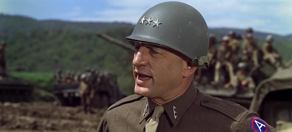 Scena tratta da Patton, Generale d'Acciaio