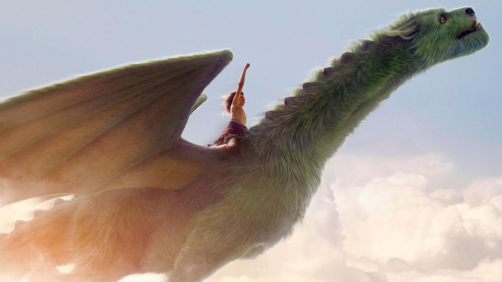 Scena tratta da Pete's Dragon