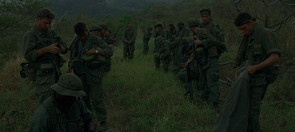 Scena tratta da Platoon