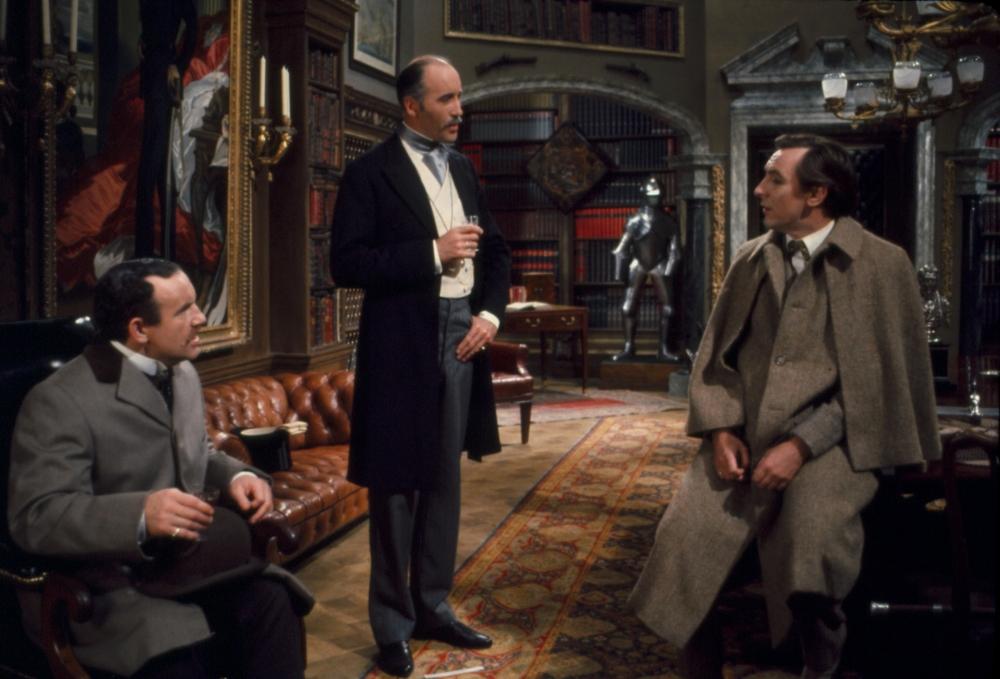 Scena tratta da Vita Privata di Sherlock Holmes