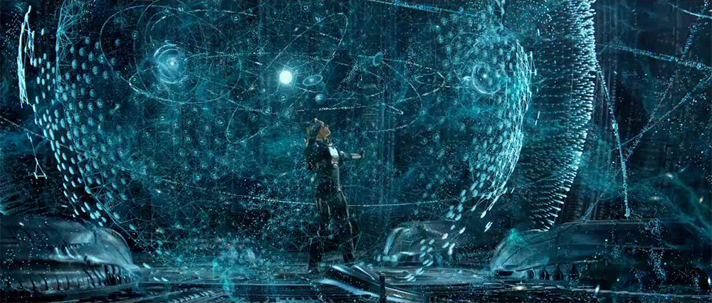 Scena tratta da Prometheus