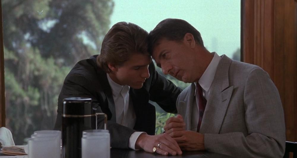 Scena tratta da Rain Man - L'Uomo della Pioggia