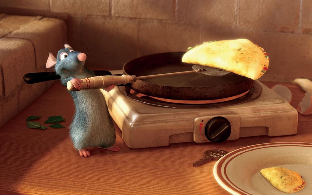 Scena tratta da Ratatouille