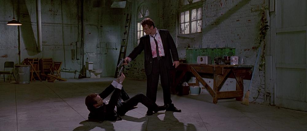 Scena tratta da Reservoir Dogs