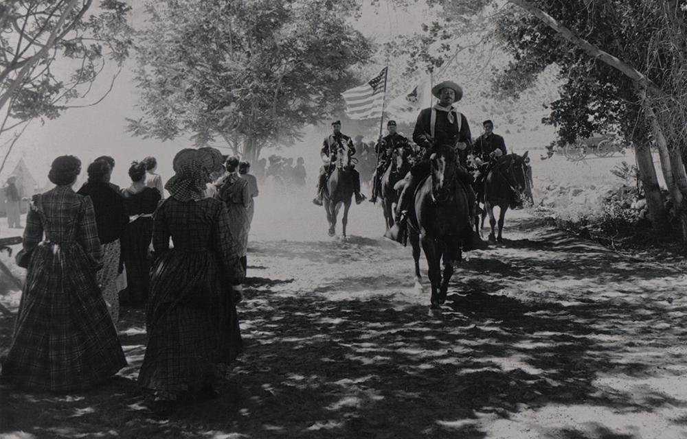 Scena tratta da Rio Grande