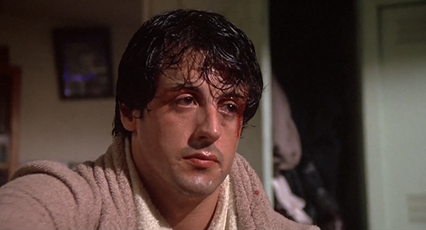 Scena tratta da Rocky