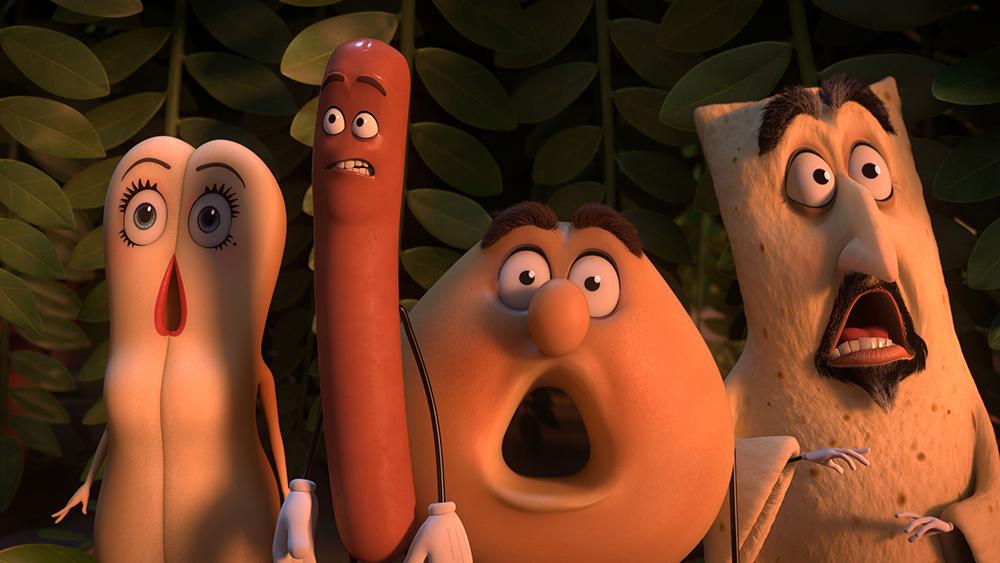Scena tratta da Sausage Party