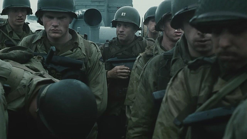 Scena tratta da Saving Private Ryan