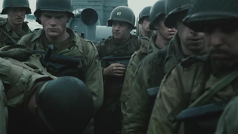 Scena tratta da Salvate il Soldato Ryan