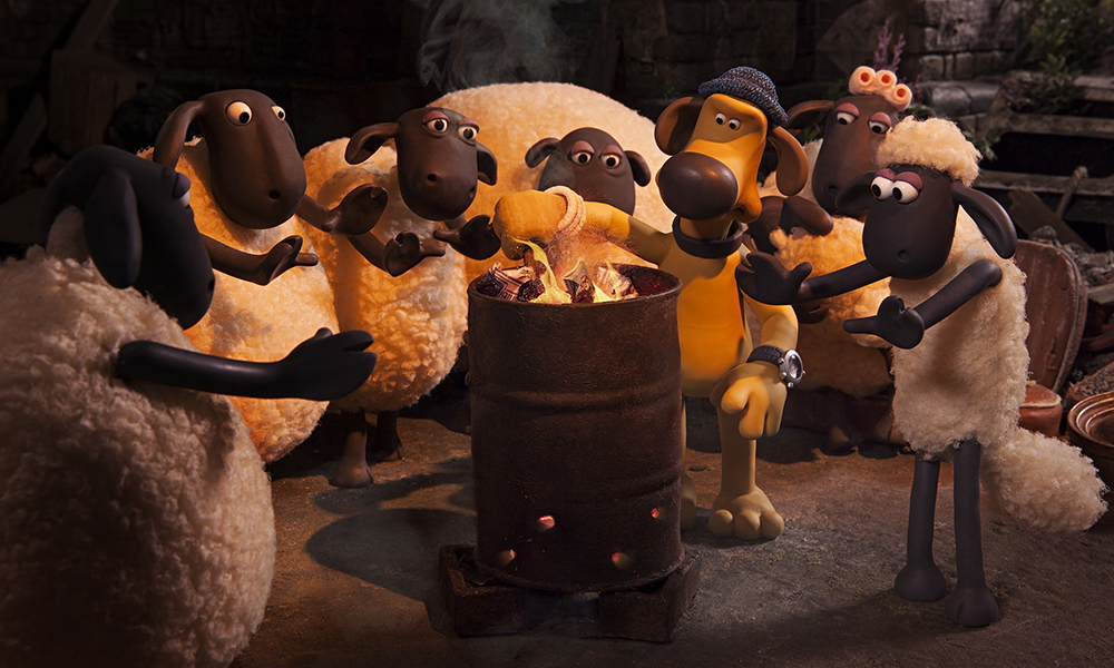 Scena tratta da Shaun the Sheep Movie
