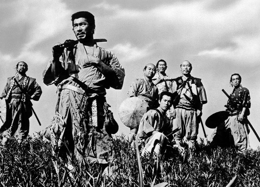 Scena tratta da I Sette Samurai
