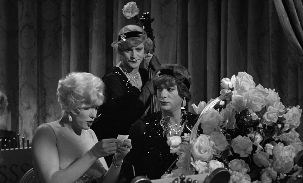 Scena tratta da Some Like It Hot