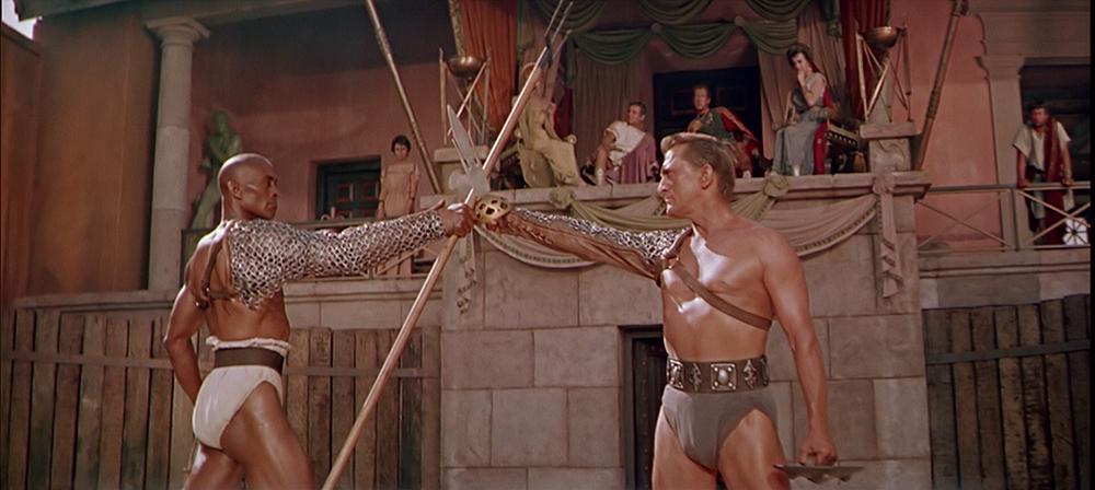 Scena tratta da Spartacus