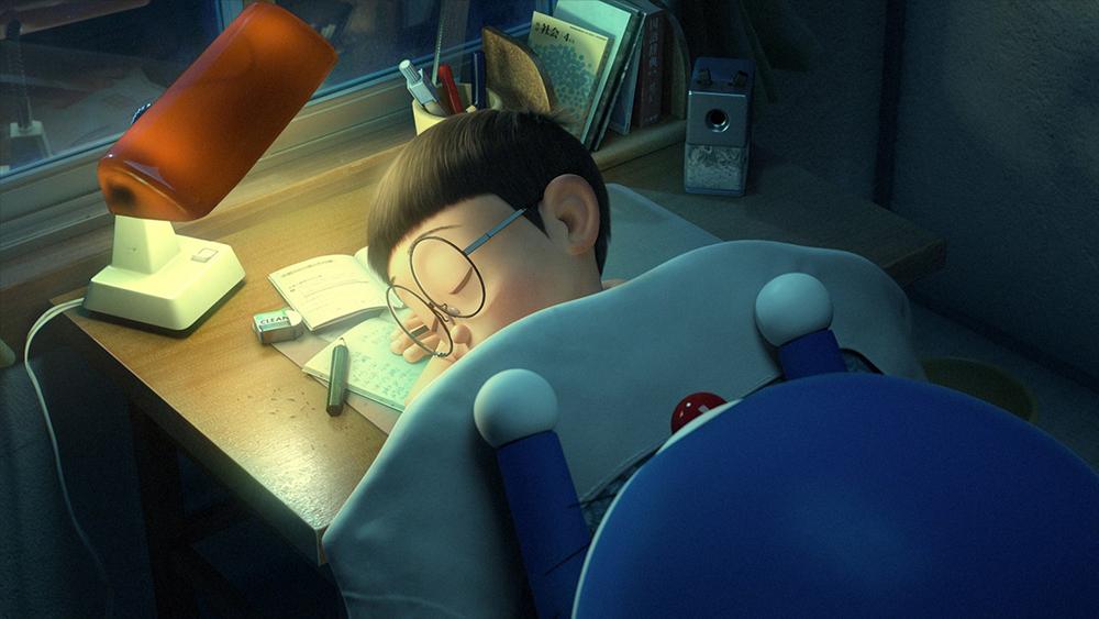 Scena tratta da Stand by Me Doraemon