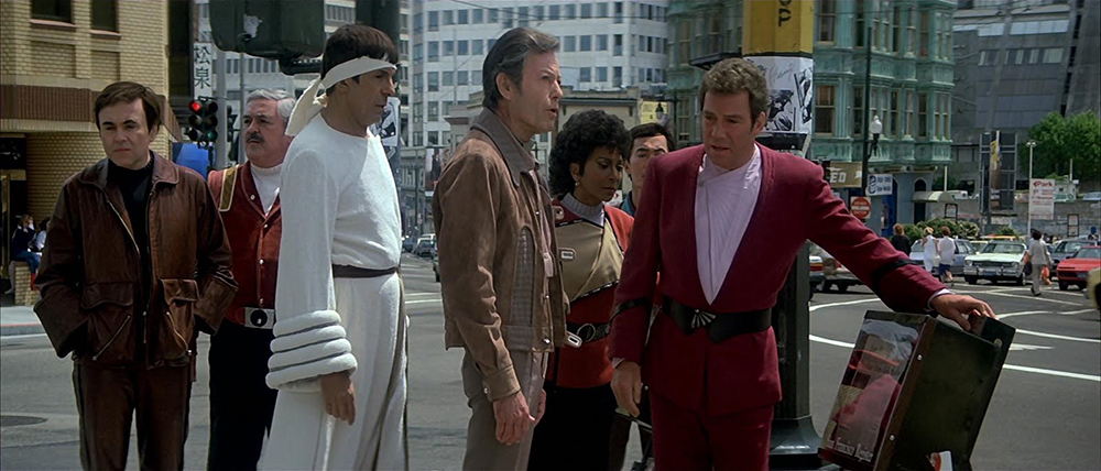 Scena tratta da Star Trek IV: The Voyage Home