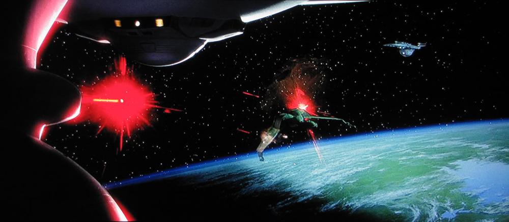 Scena tratta da Star Trek VI: Rotta Verso l'Ignoto