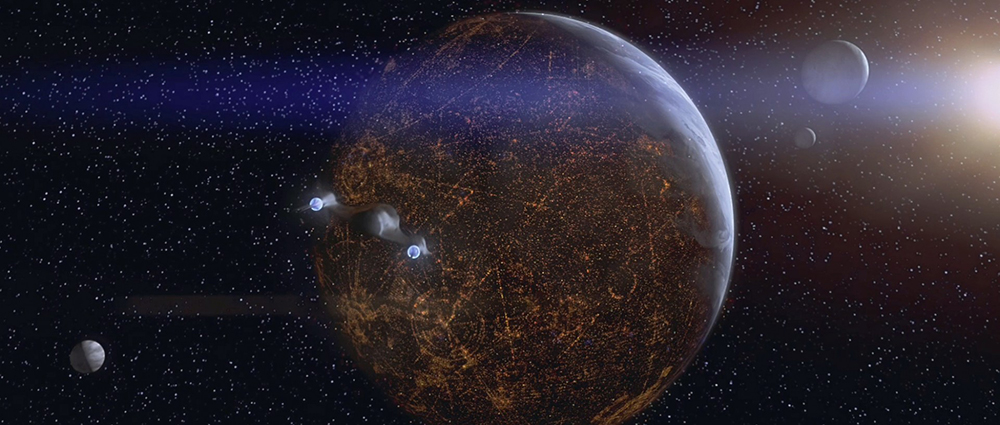 Scena tratta da Guerre Stellari Episodio I: La Minaccia Fantasma