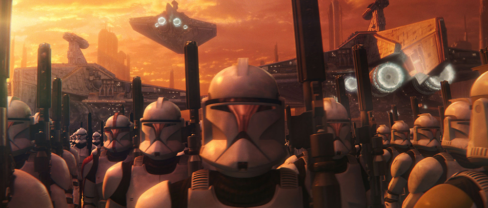 Scena tratta da Star Wars Episode II: Attack of the Clones